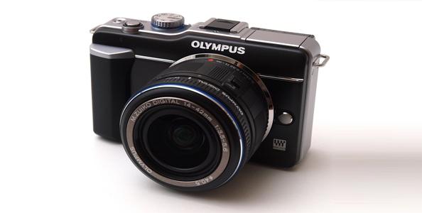 Olympus E-PL1 micro cuatro tercios