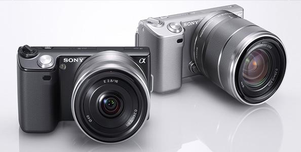 cámara réflex Sony NEX-3 y NEX-5