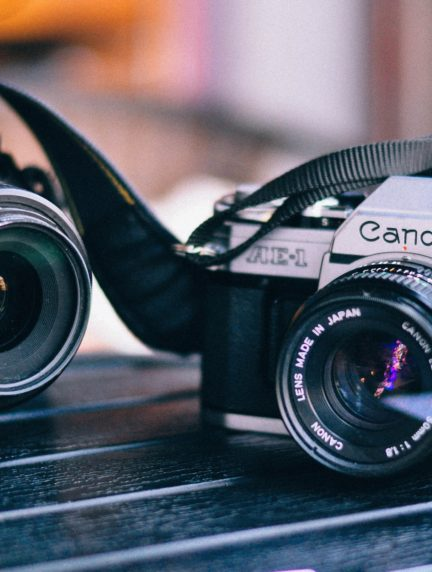 Camara Canon y Nikon