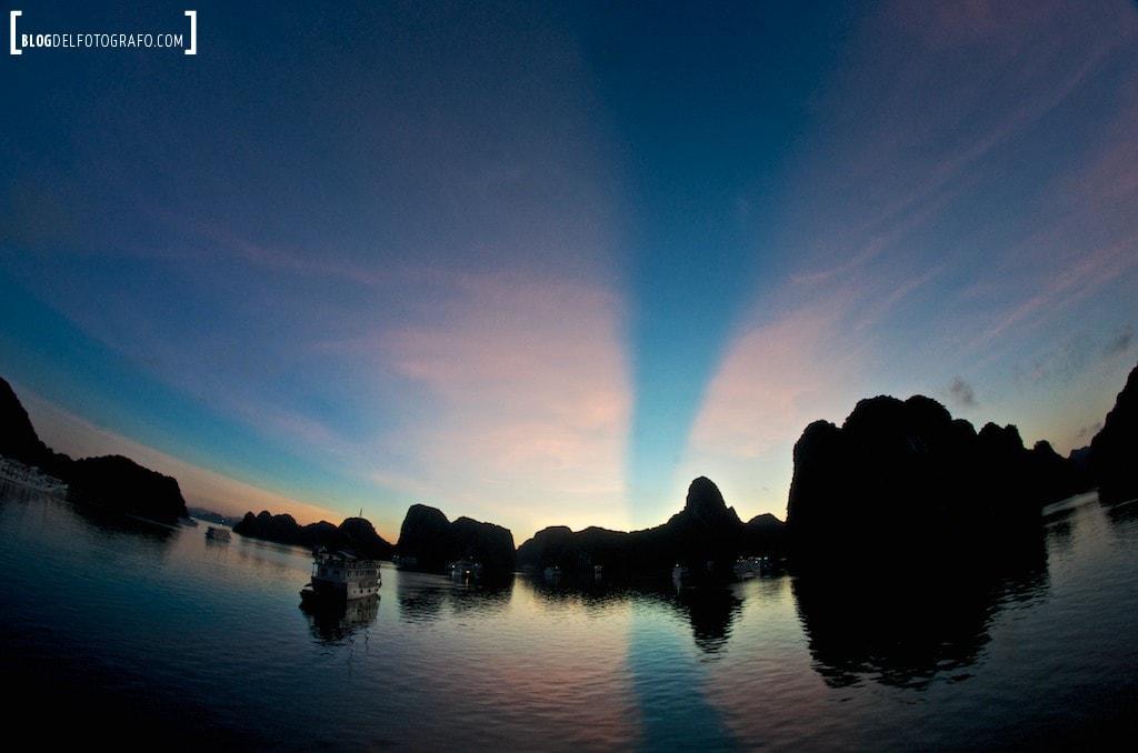 Bahia de Halong, Vietnam