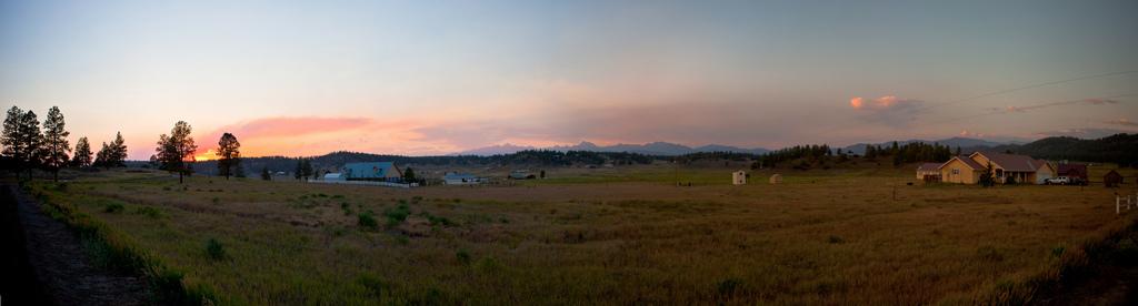 Panoramica de un paisaje en Colorado