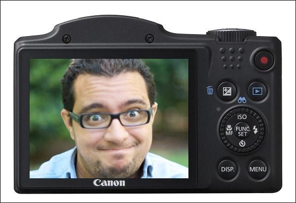 Cortando cabezas con Mario y la Canon SX 500 Is