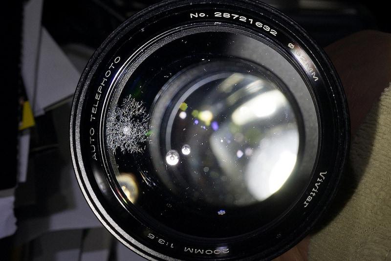 Imagen de lente con hongo