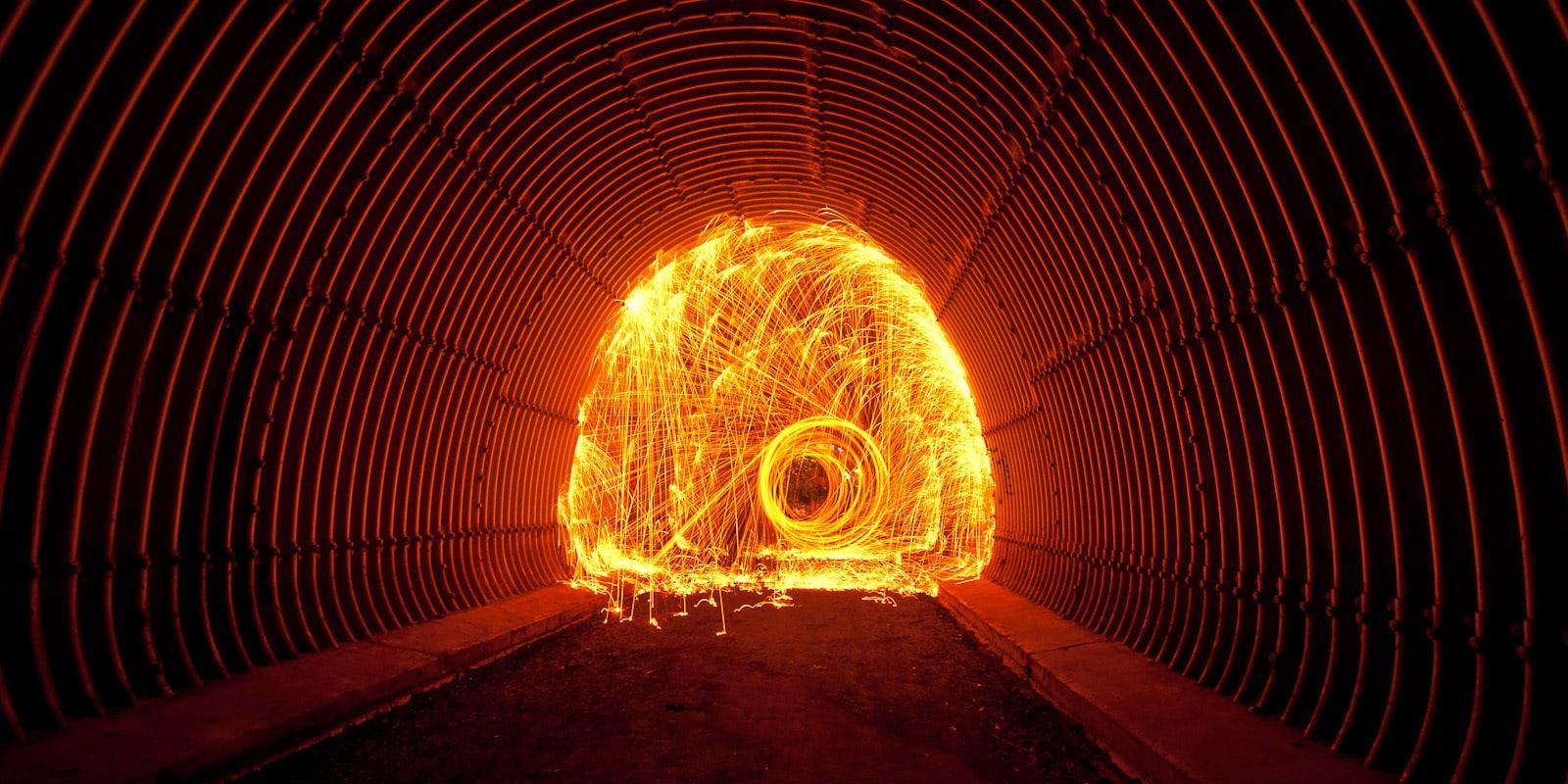 Ejemplo de Fotografía Lightpainting