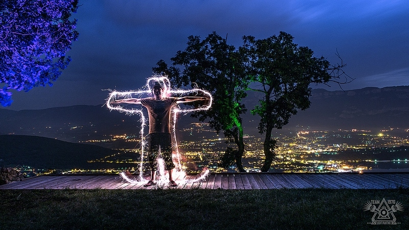 Fotografia Lightpainting