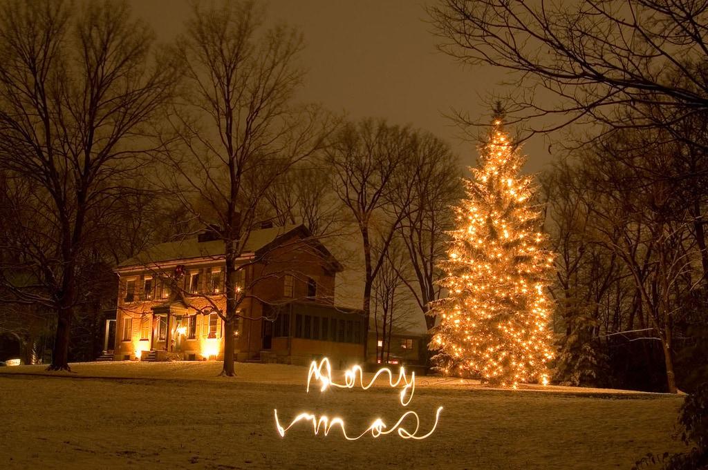 Lightpainting en Navidad