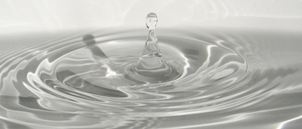 Creatividad casera - Fotografiando una gota de agua