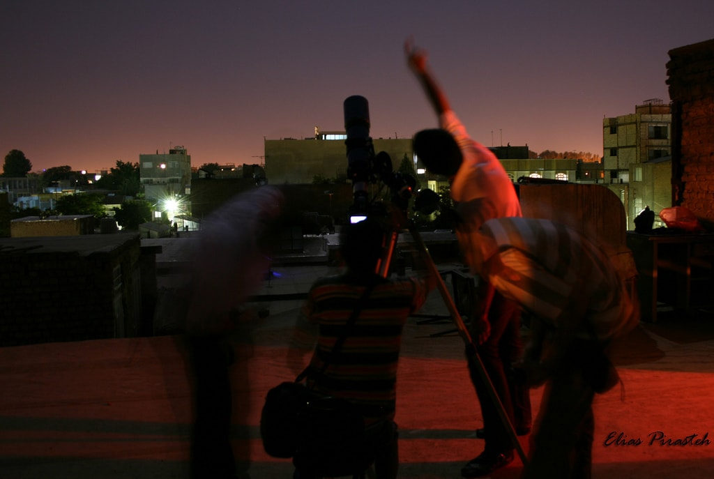 Fotografiando la luna