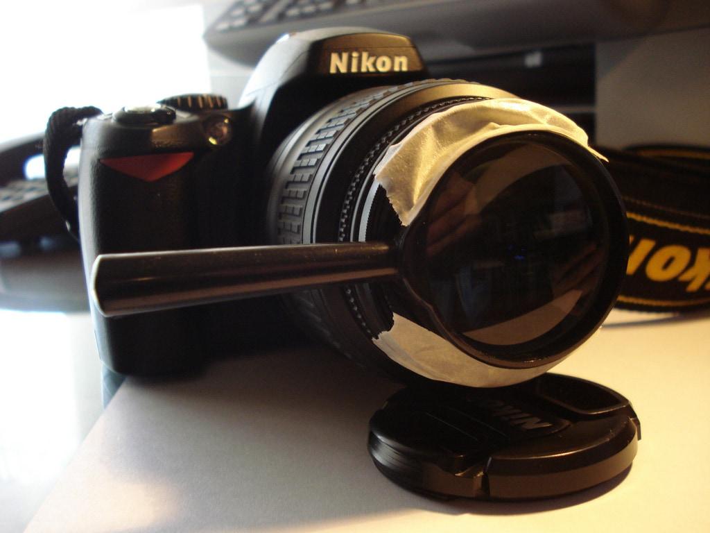 Error # 1: Adquirir objetivos y accesorios de calidad dudosa