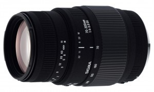 Objetivo de marca alternativa Sigma 70-300mm DG Macro