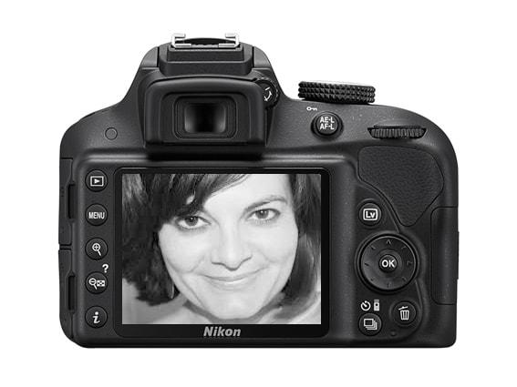 Nikon D3300 pantalla trasera