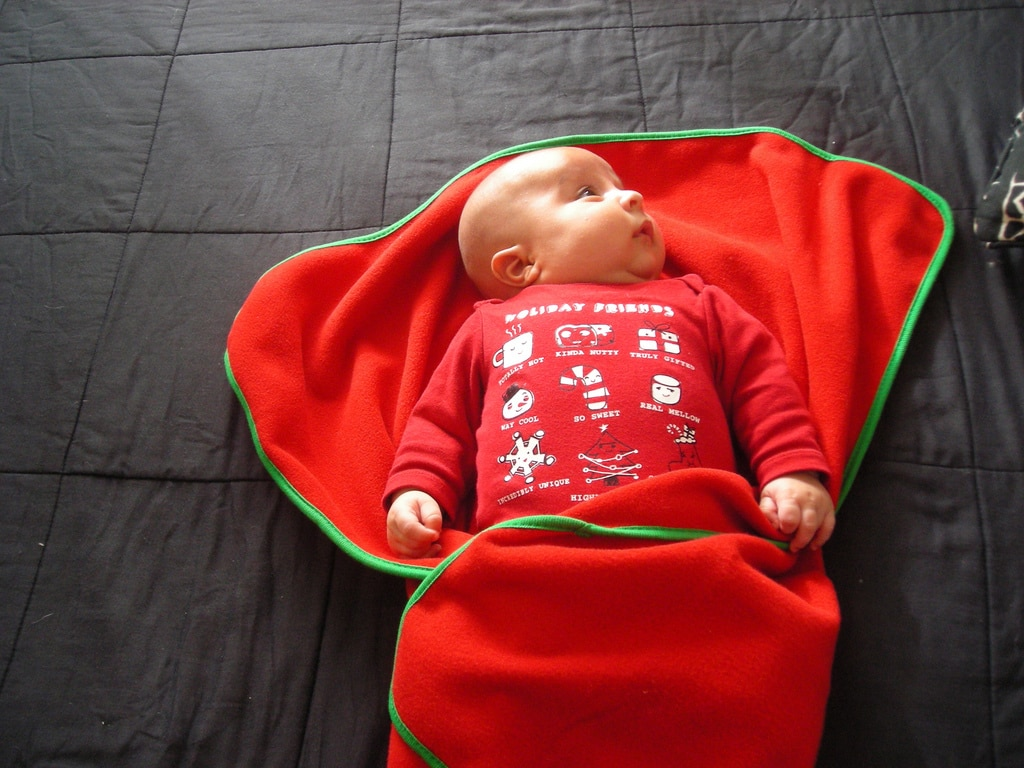 Bebé lejos