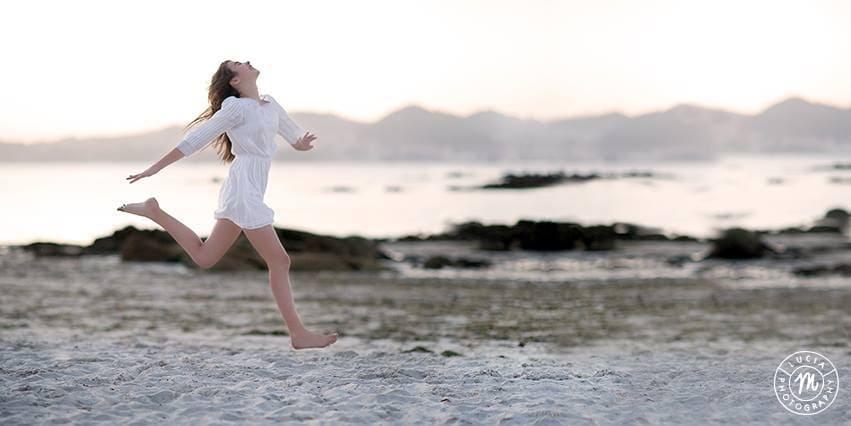 Alegría y felicidad capturada por LucíaM Photography.