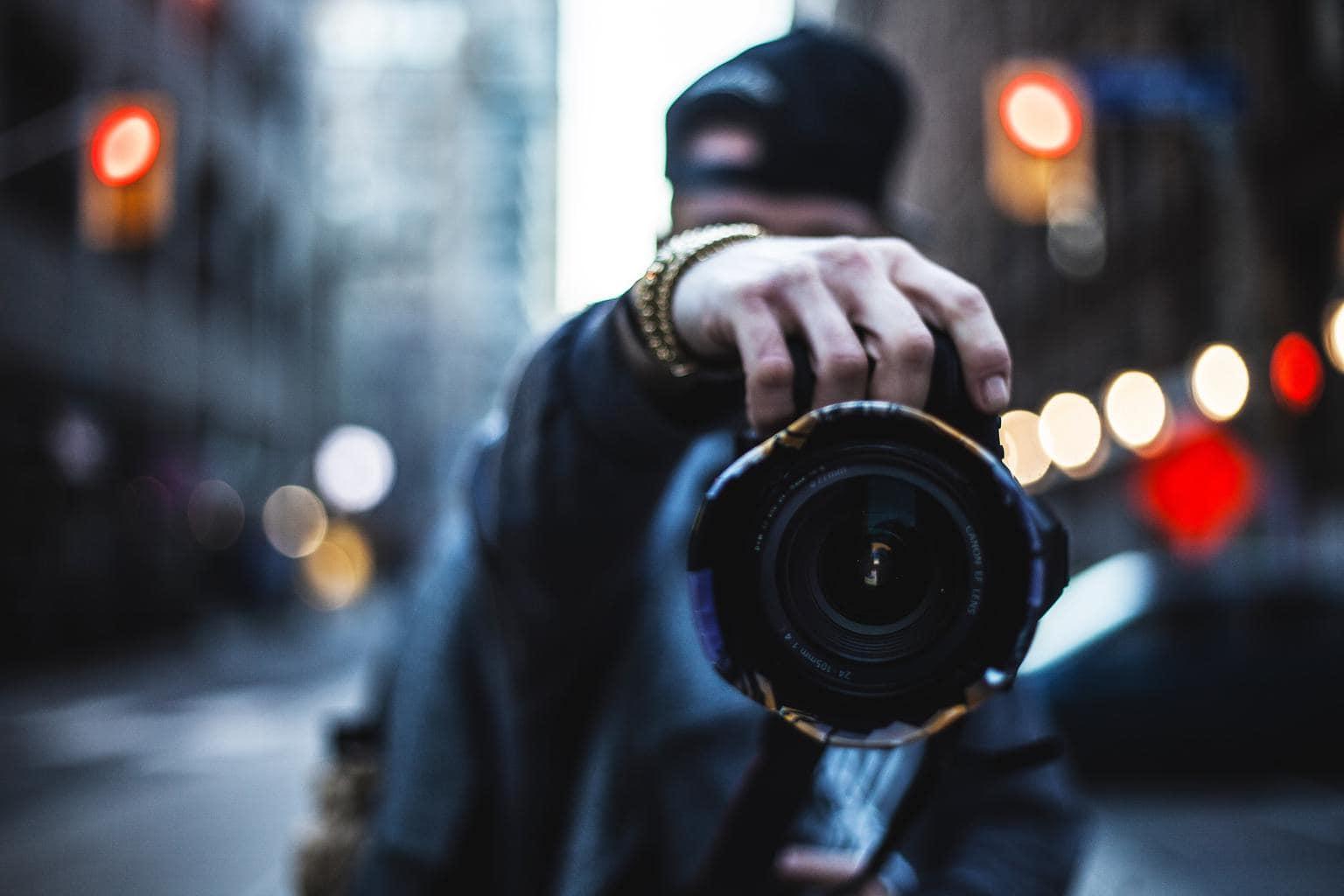 Fotógrafo en la calle