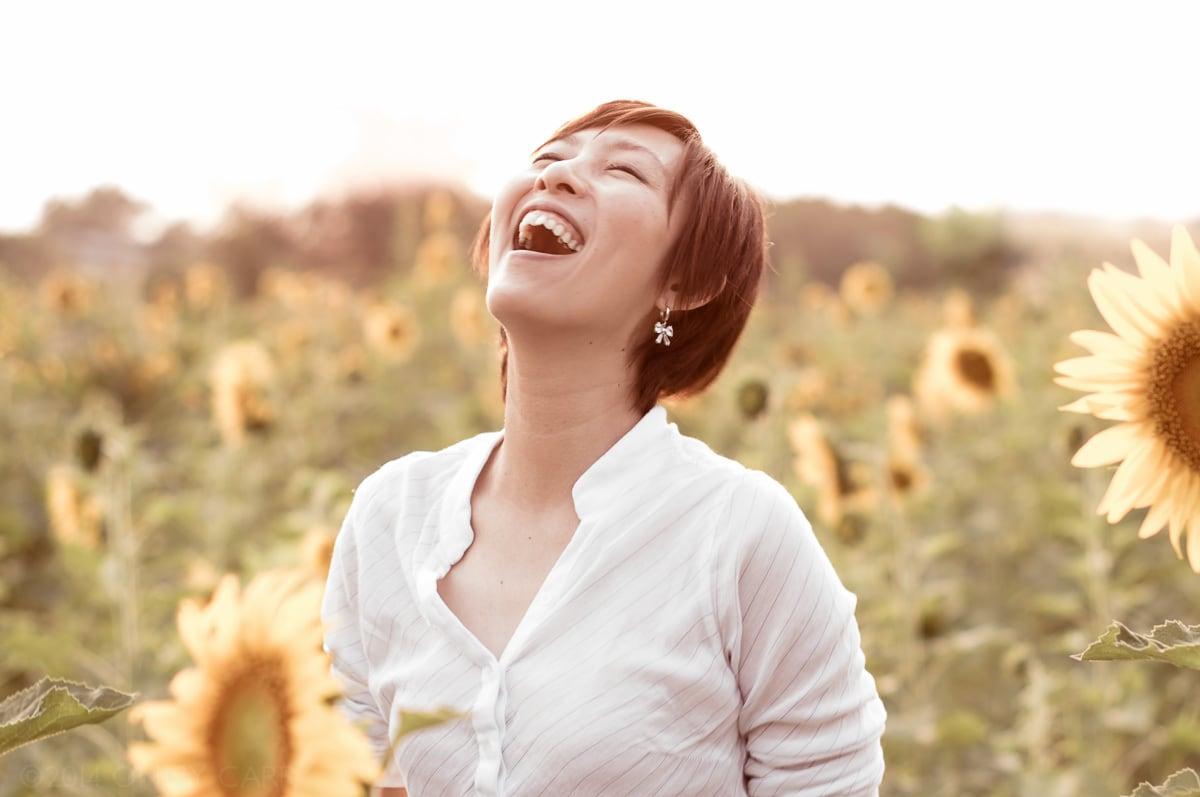 No es lo mismo sonreír que reír.