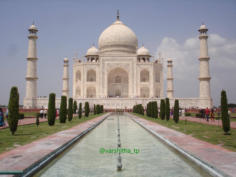 Taj Mahal fotografiado por tpvarshitha