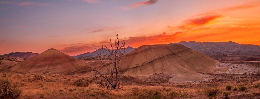fotografía panorámica del desierto