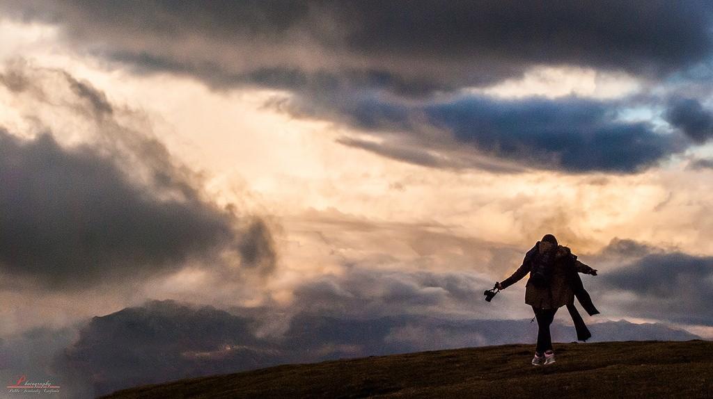 El horizonte bajo le garantiza el protagonismo al cielo