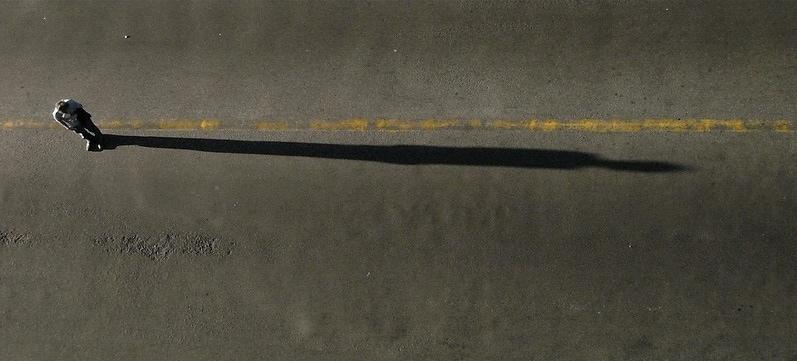 Ejemplo de composición con líneas horizontales