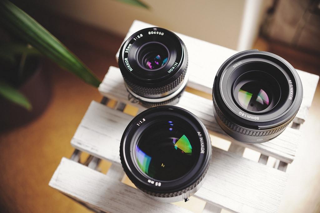 "Objetivos ""prime"" o de focal fija"