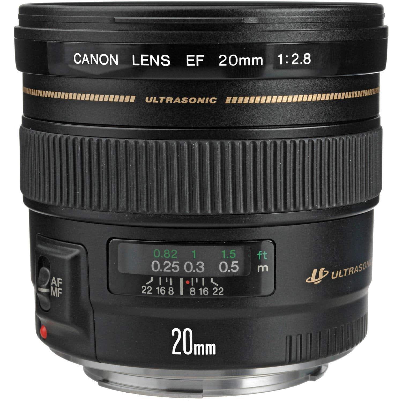 Objetivo Canon 20mm