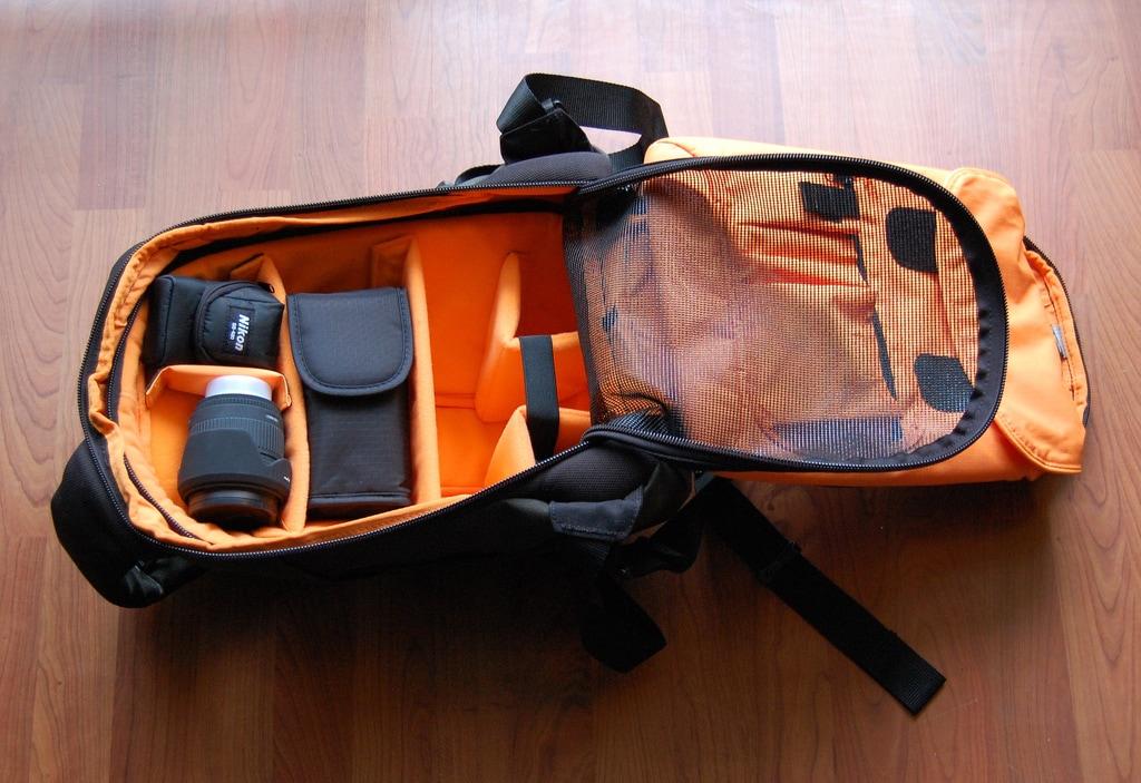 Algunas mochilas traen una red de protección.