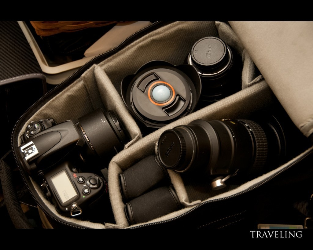 mochila para tu cámara de fotos réflex