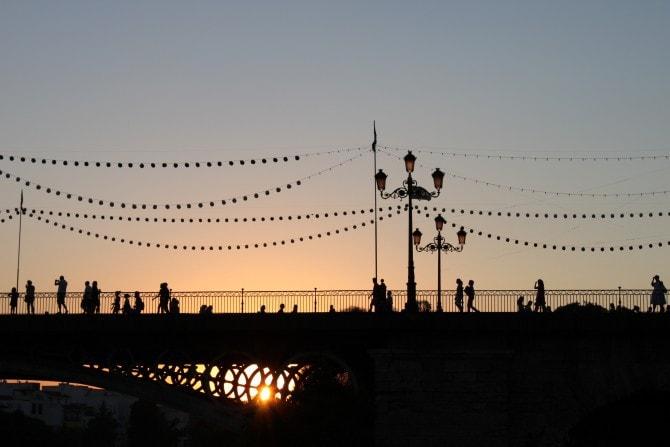 Atardecer desde Marqués de Contadero, Sevilla