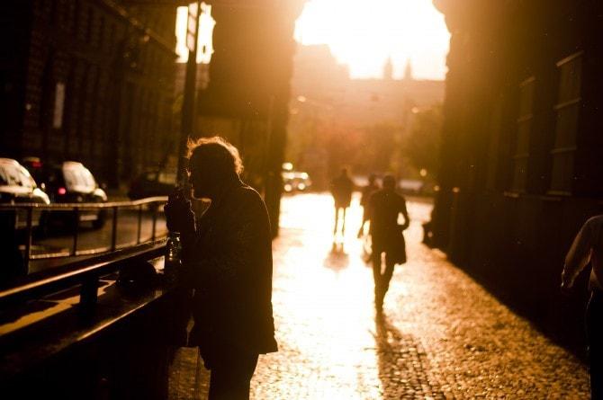 La hora dorada en Praga