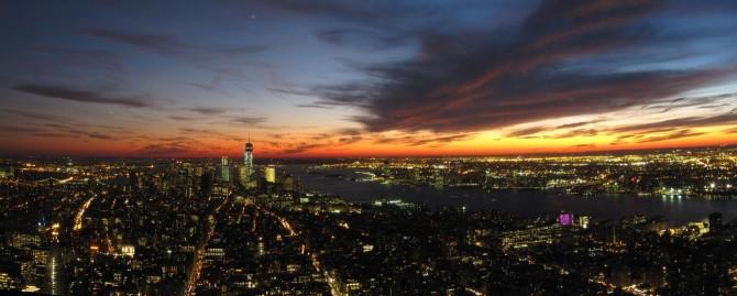 Manhattan desde el Empire State Building