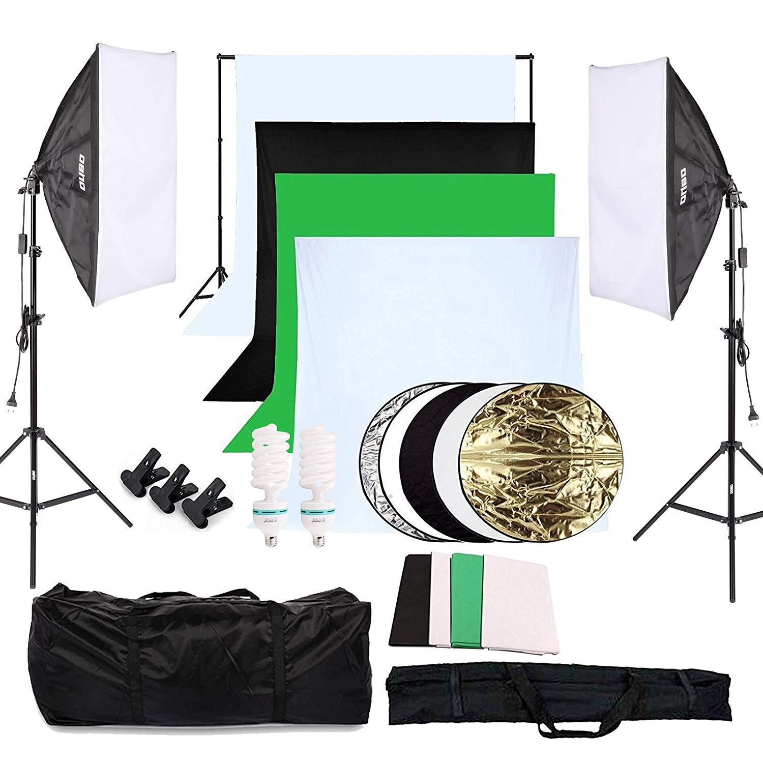 kit iluminación estudio