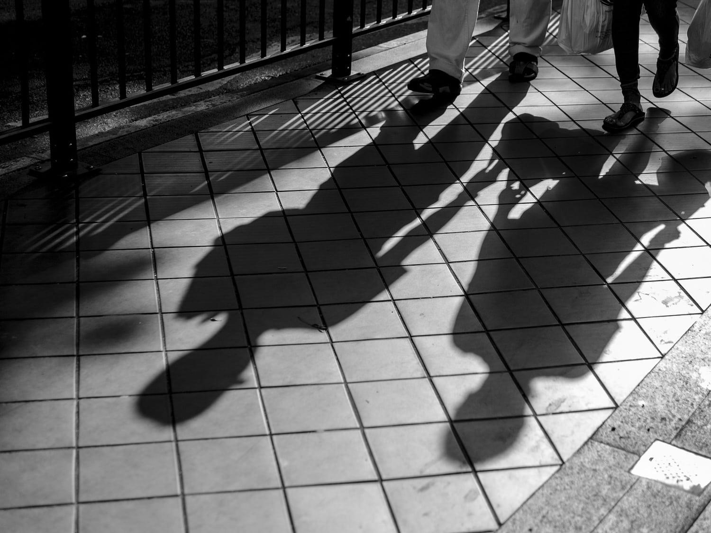 Las sombras y la dirección del movimiento