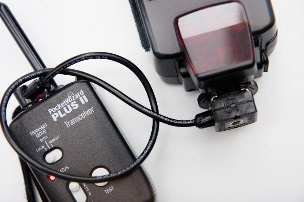 Radios de sincronización sin cables.