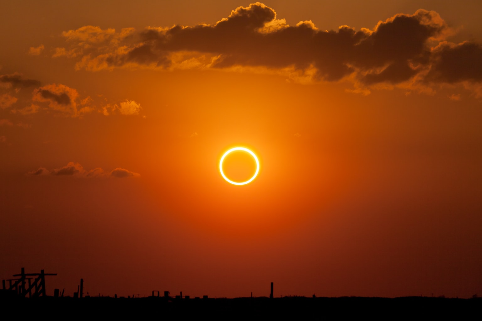 Perfect Ring of Fire