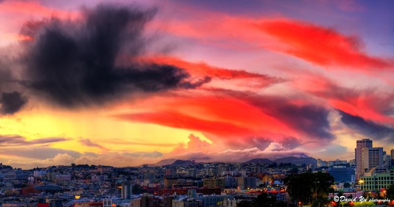 Nubes dignas de ser retratadas.