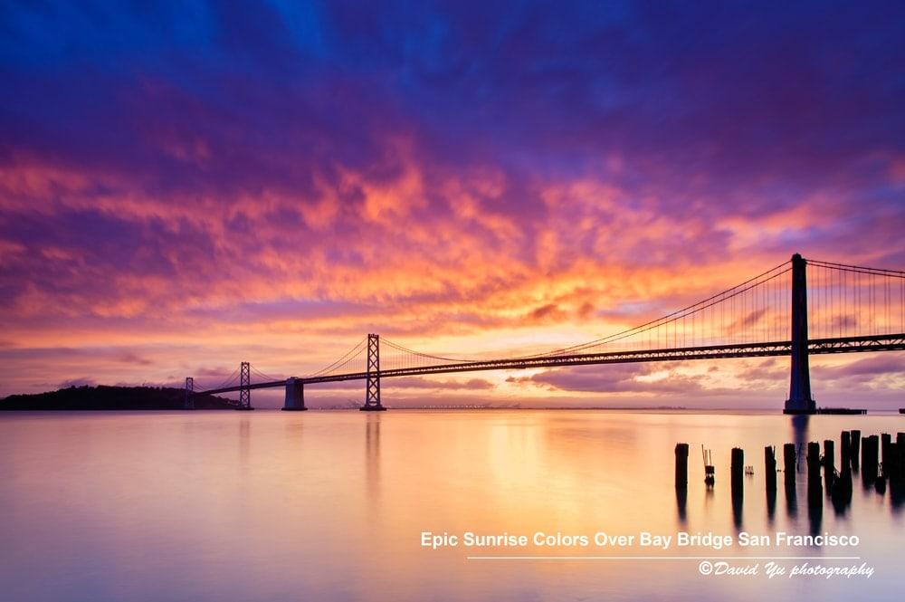 Magnífica composición de colores que el fotógrafo ha sabido localizar e inmortalizar