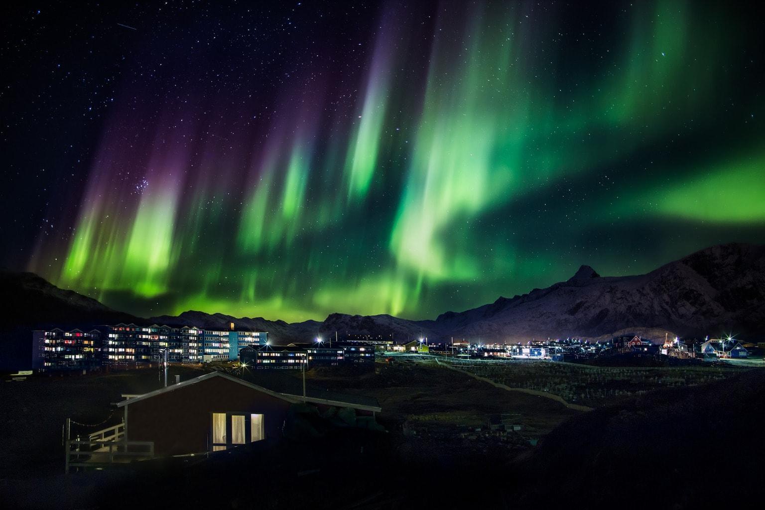 Fenómeno natural de la aurora boreal