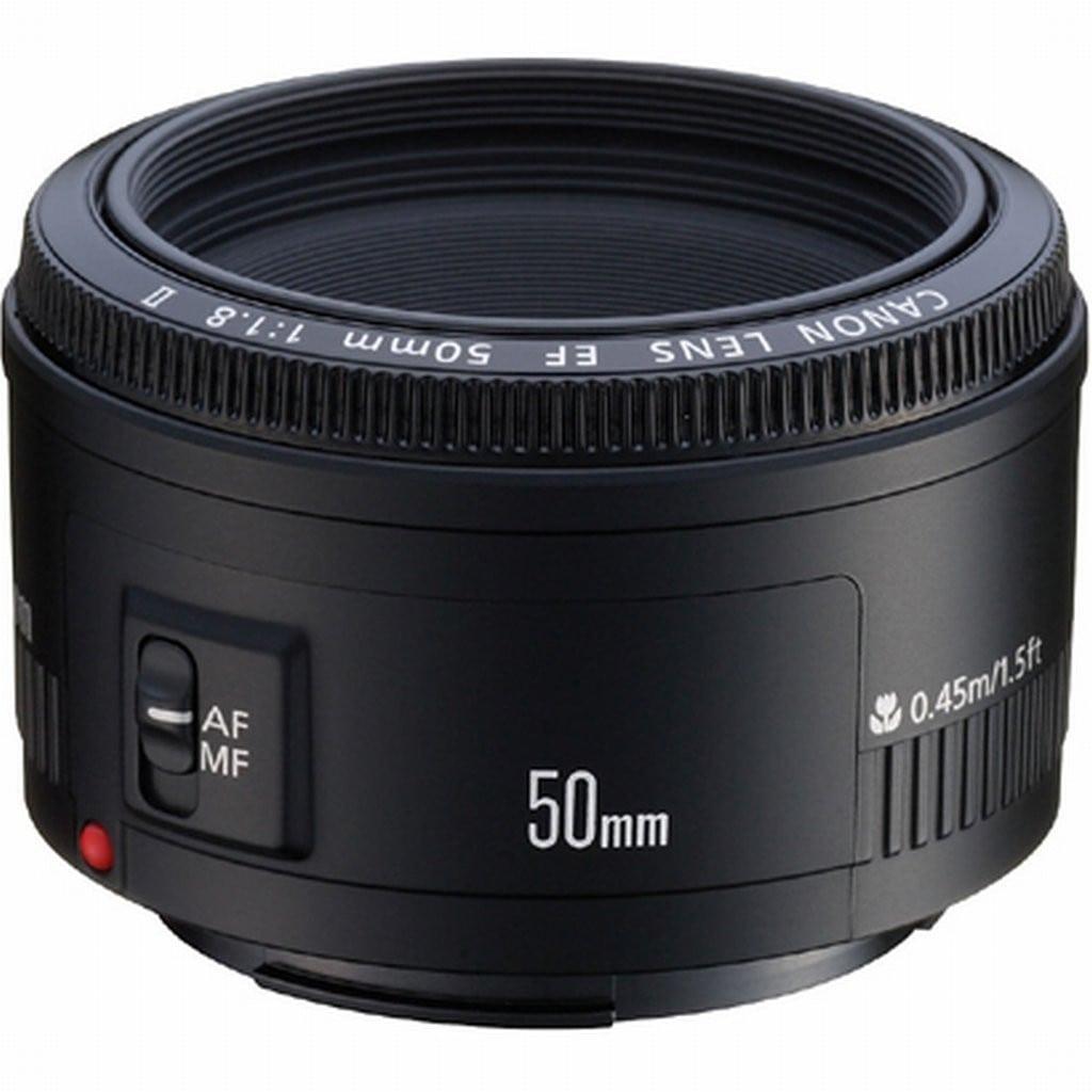 Objetivo 50 mm 1.8 Canon