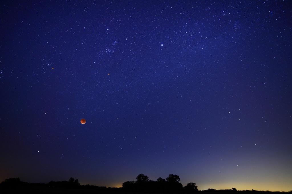 Eclipse fotografiafo por Luis Argerich
