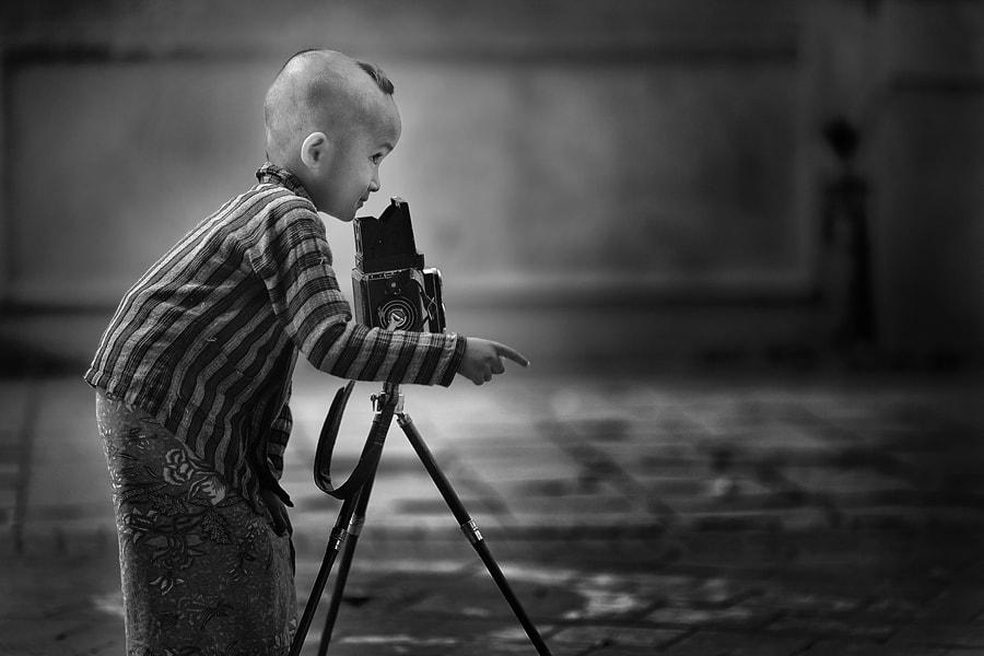 """Piensa en la fotografía """"meta"""". Siempre."""