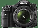 cámara réflex a58