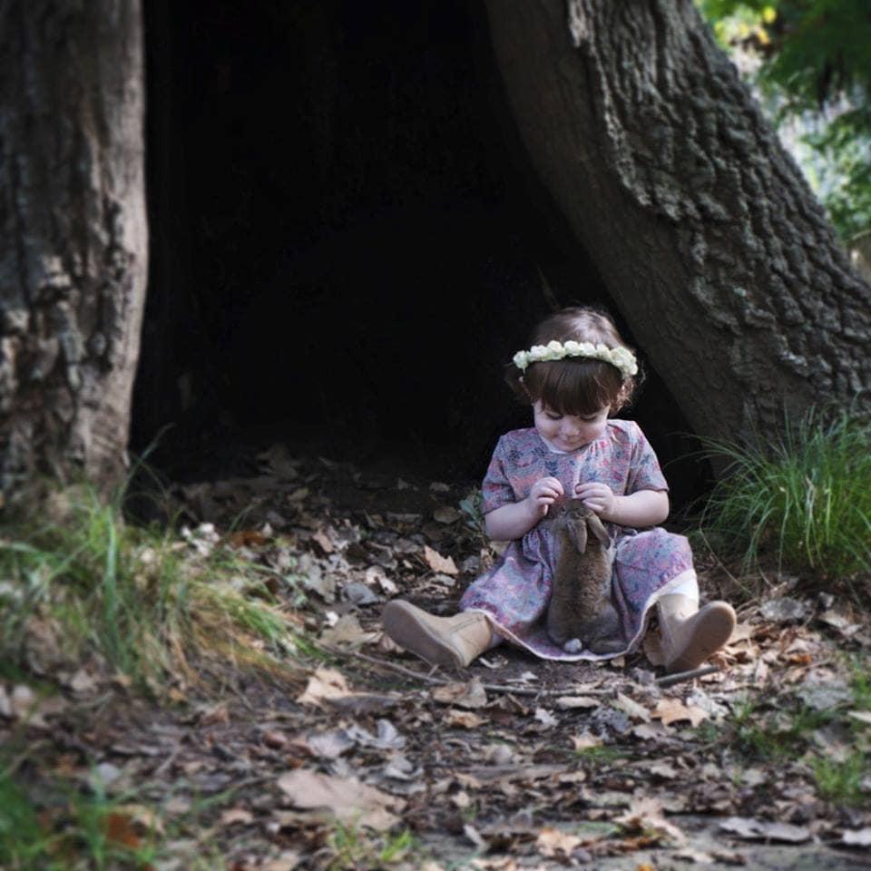Amalia Zilio_Magia en el bosque