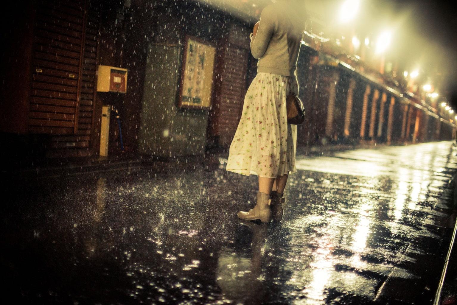La lluvia nostálgica
