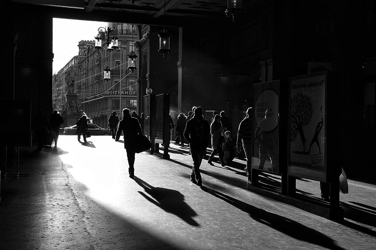 Las imágenes con alto contraste quedan muy bien en blanco y negro