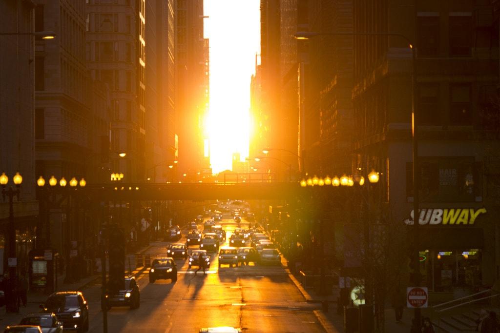Ciudades en la hora dorada
