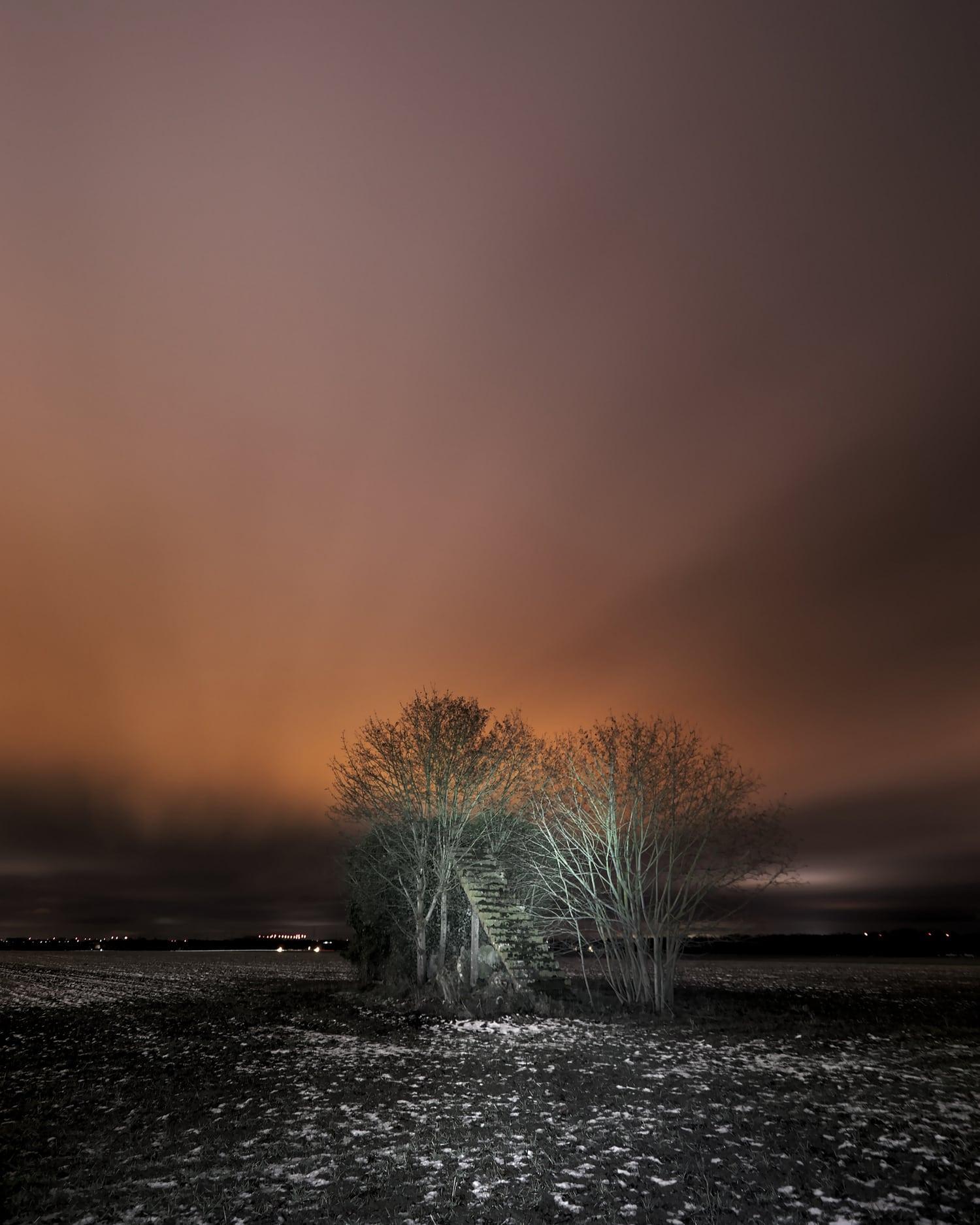 Paisaje nocturno con Canon 200D