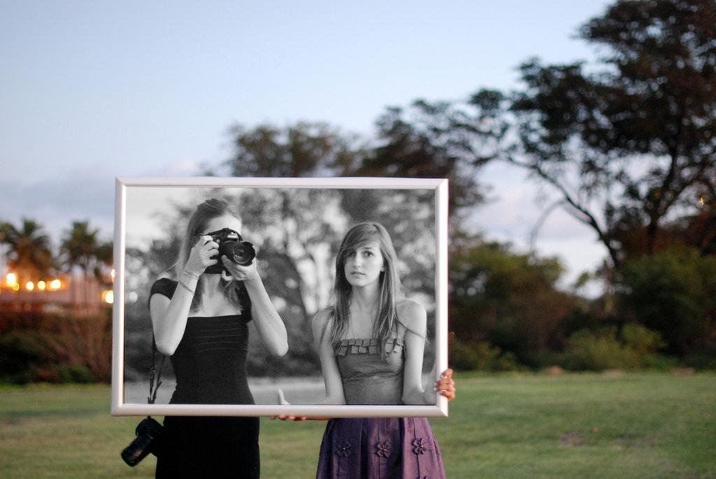 Haz fotos únicas. Diferentes.