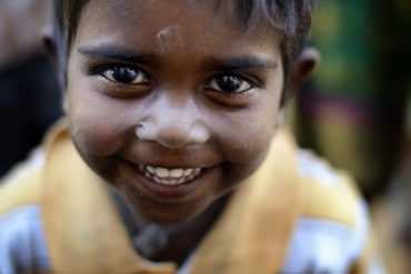 Una foto por una sonrisa.