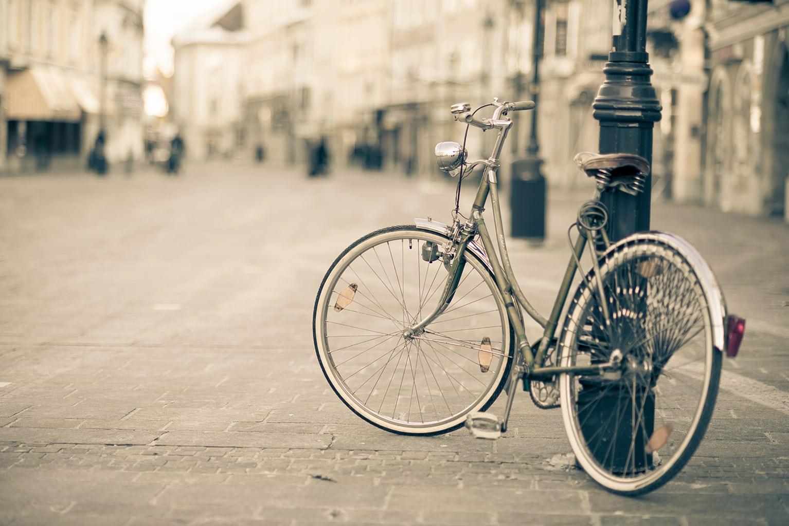 El ausente dueño de la bici
