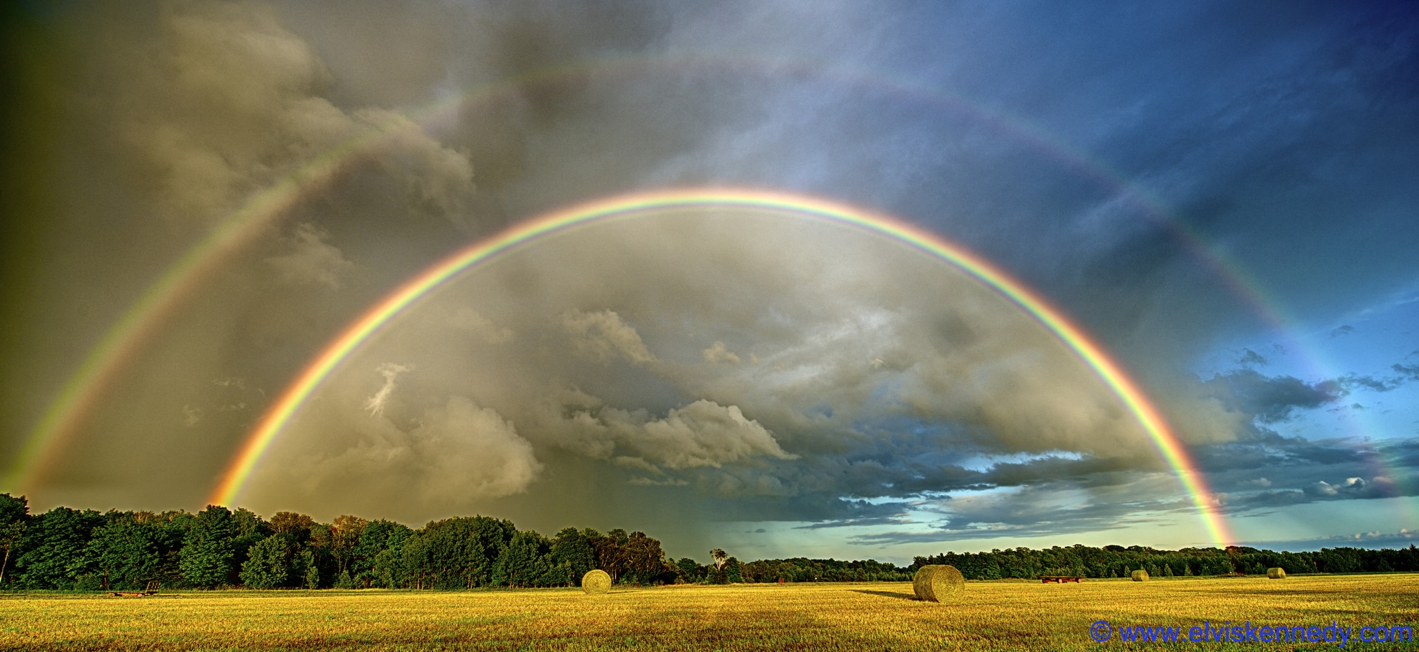 Doble arco iris de Elvis Kennedy